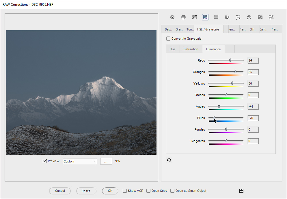 Extra functions for Photoshop Elements