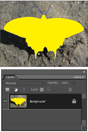 Filling current raster layer with pattern