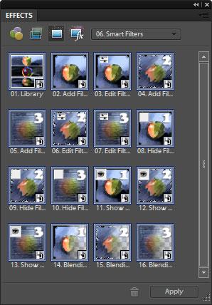 Smart Filters window